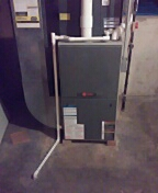 Crest Hill, IL - Replace cracked heat exchanger in trane furnace