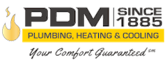 PDM Plumbing, Heating, Cooling Since 1885