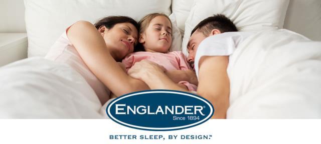You'll Always Sleep Better on an Englander Mattress.