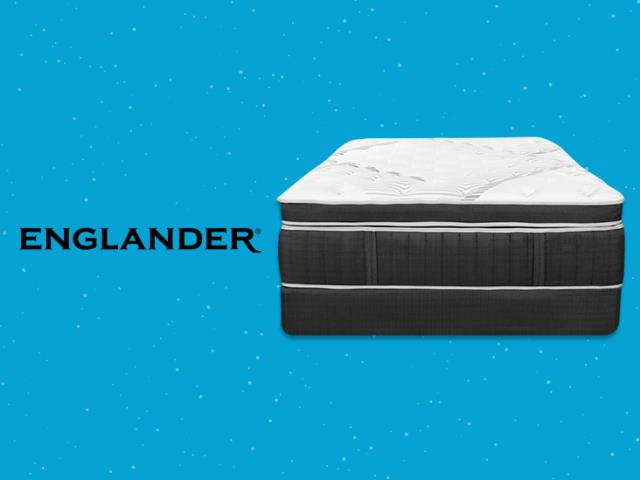 The Englander Mattress brand has spent decades mastering the art and science of sleep, and they design that experience into every Englander mattress.
