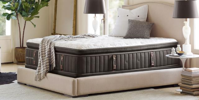 Stearns & Foster luxury mattresses offer indulgent comfort while delivering the highest of standards of lasting quality.