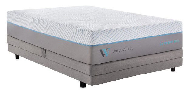 Wellsville mattress styles are designed for better, cooler sleep.
