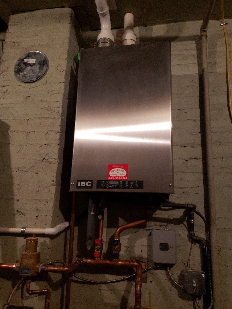 Woodstock, IL - Installed new IBC boiler.