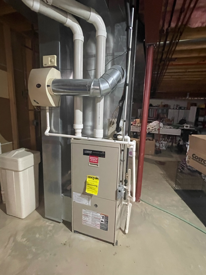 Wonder Lake, IL - Customer's was informed that their heater would likely only last one more season last year. They received a free estimate on a furnace as well as an AC due to them being the same age.