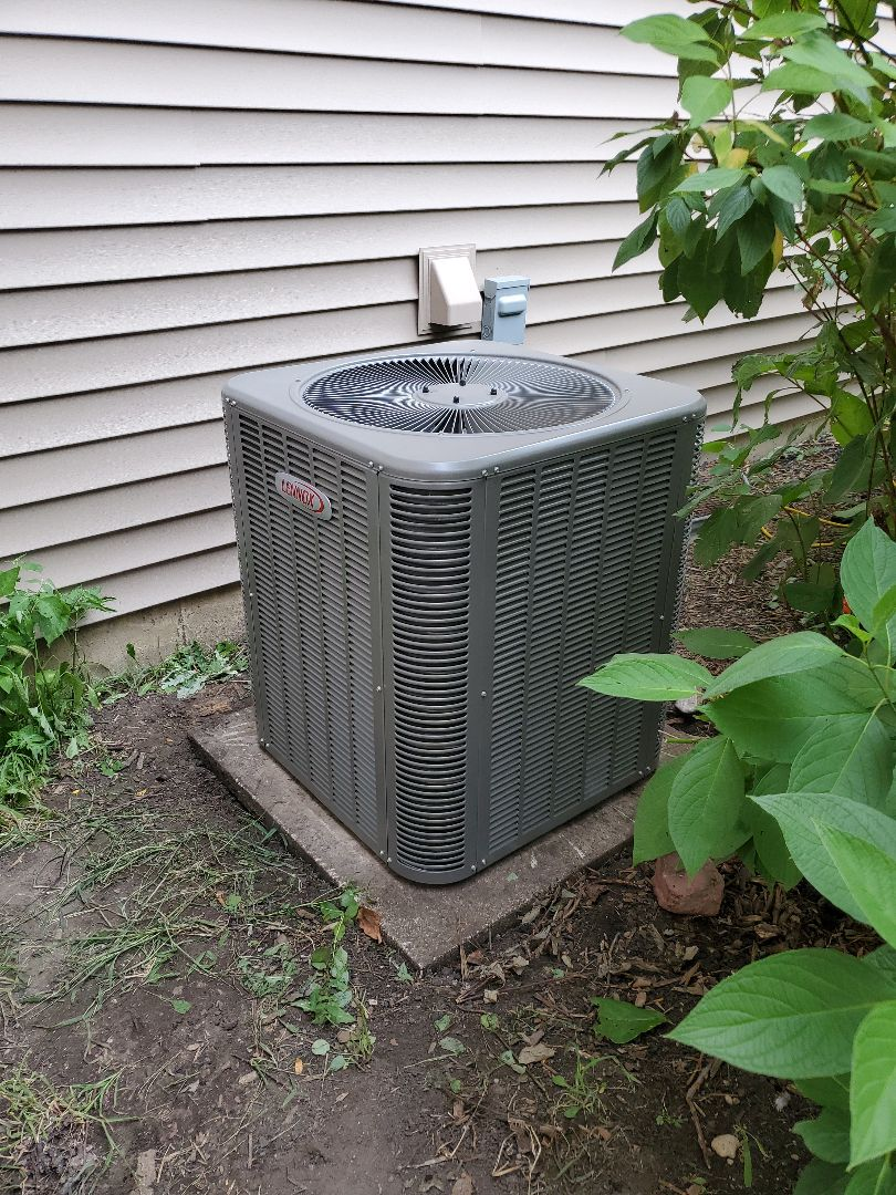 Crystal Lake, IL - The AC portion of Alex & Russ' full system install in Crystal Lake.