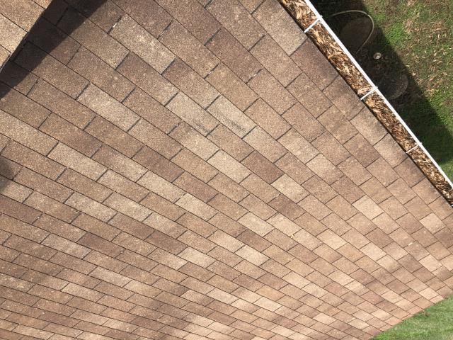 Georgetown, TX - We are seeing some hail damaged roof in Georgetown, TX.  Call us for a free inspection of your roof, and we can help walk you through the insurance process.  Call RoofCrafters as your go to roofing contractor in Georgetown, TX.