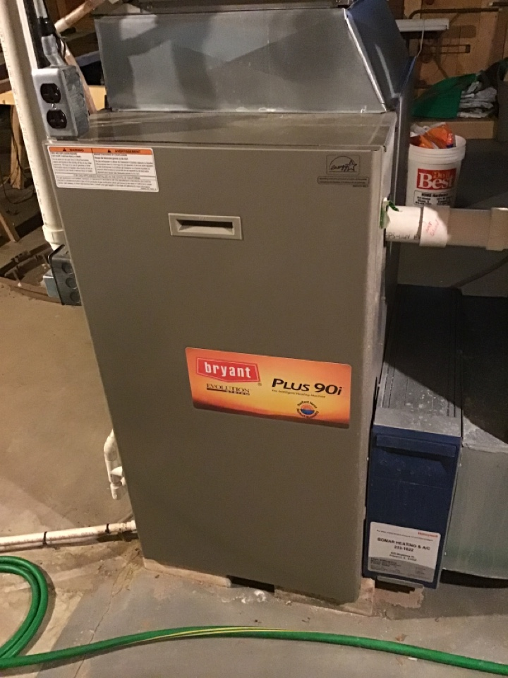Freeport, IL - Annual clean and check for this Bryant furnace.  E sure system is ready for the cold. It is coming.