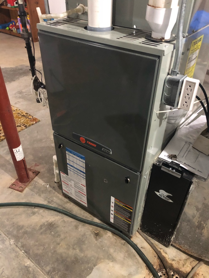 Pearl City, IL - Annual furnace maintenance inspection and cleaning