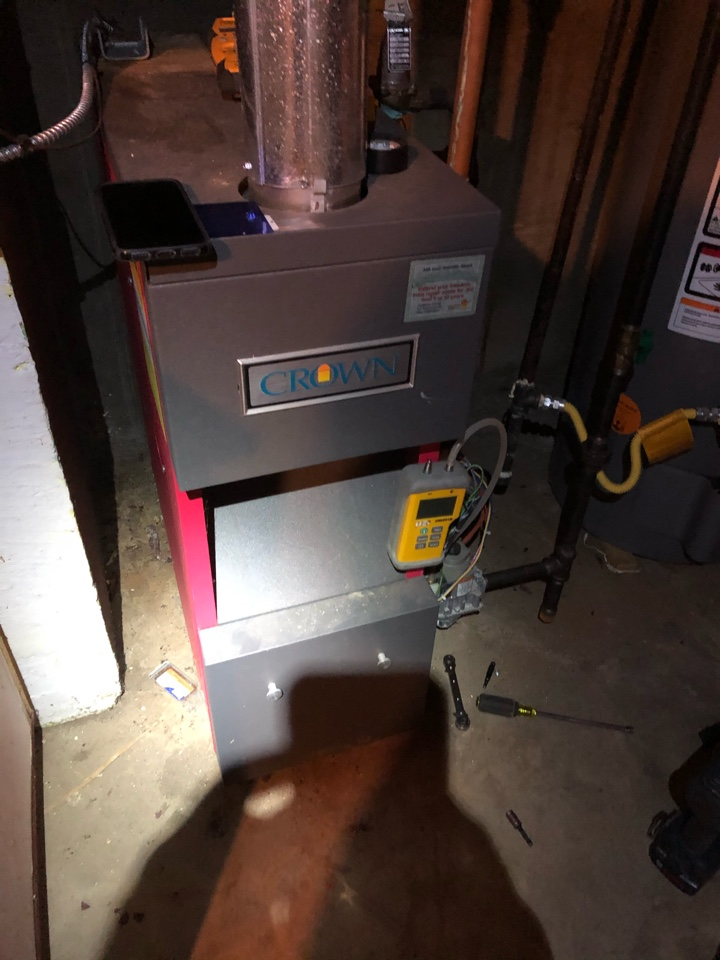 Freeport, IL - Annual boiler maintenance inspection and cleaning