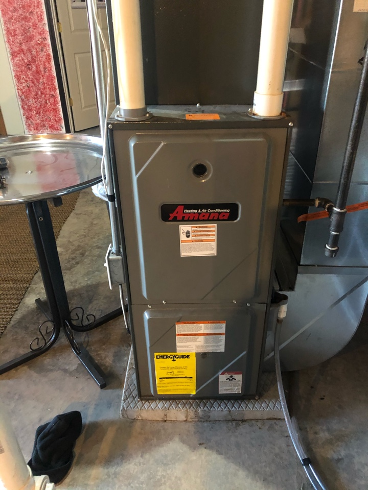 Stockton, IL - Annual furnace maintenance inspection and cleaning