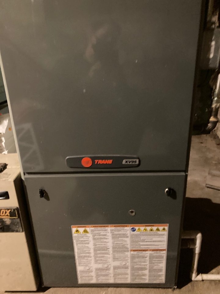 Pearl City, IL - Check out this Trane furnace in Pearl City!