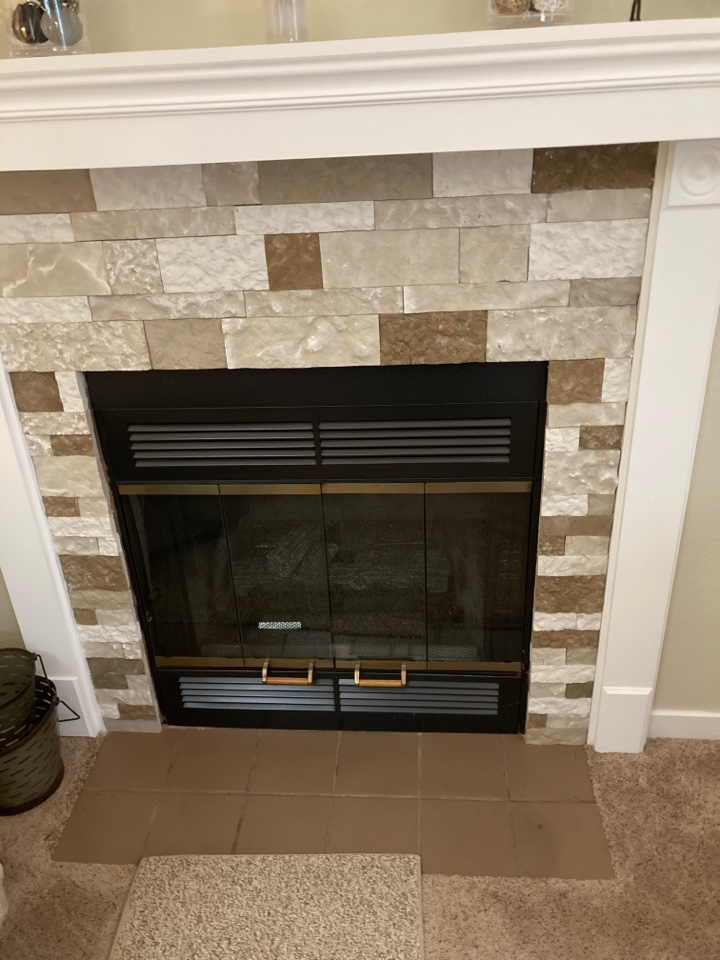 Loves Park, IL - Getting this Temco fireplace running.