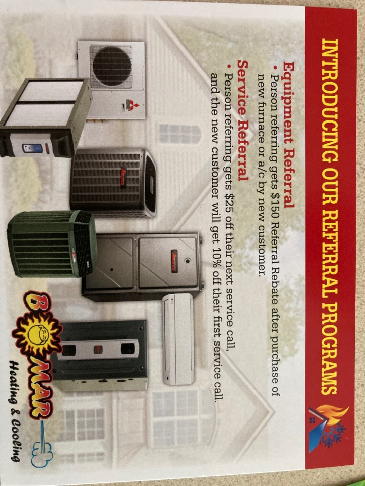 """Freeport, IL - Seasonal maintenance on a Ruud air conditioner. Ask us about our """"Referral Program""""!!!"""