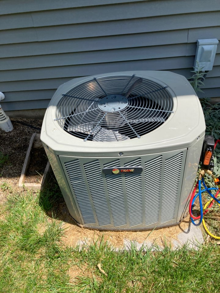Winnebago, IL - Another Trane performing well!