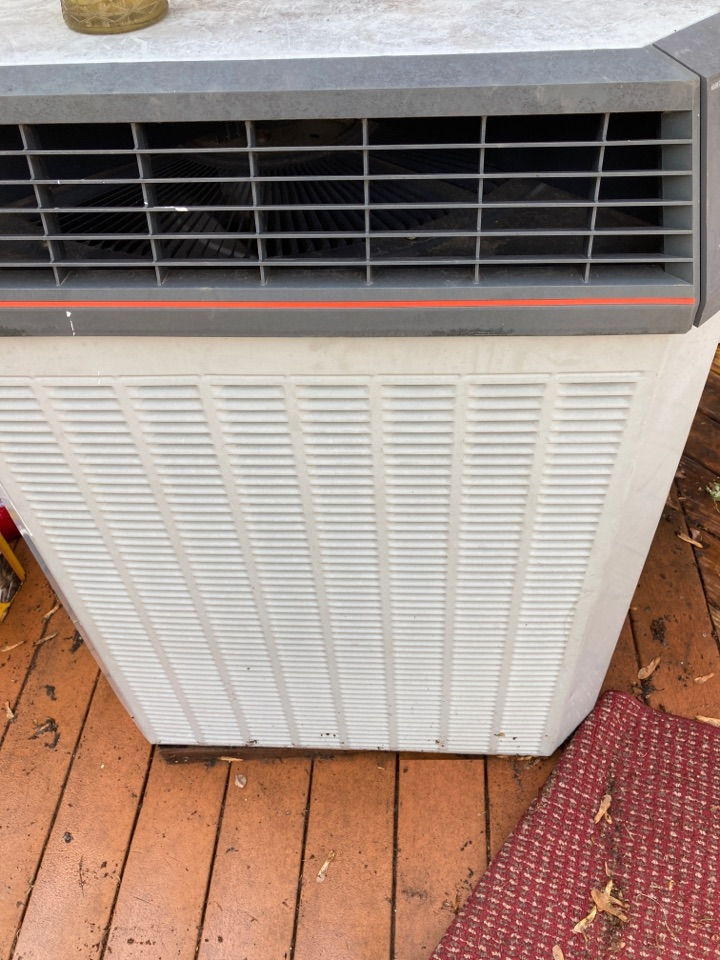 Ridott, IL - Getting this Trane air conditioner ready for summer!