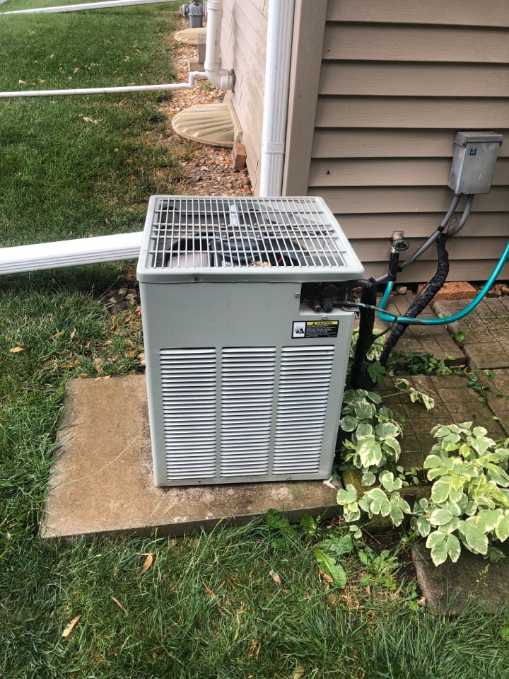 Winnebago, IL - Annual air conditioning maintenance inspection and cleaning