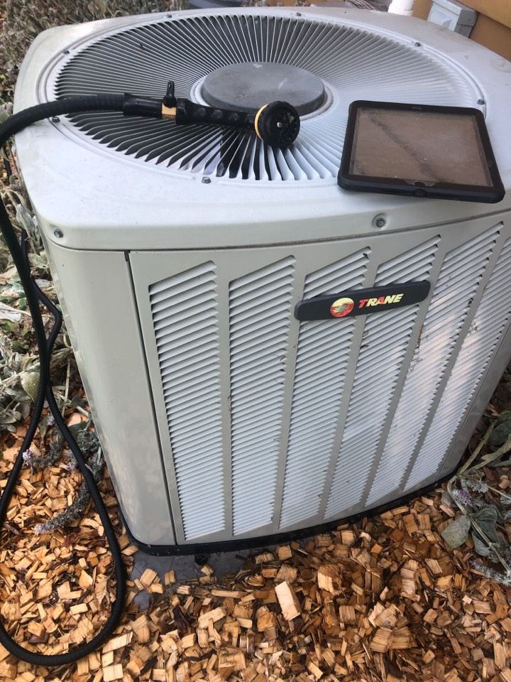 Shannon, IL - Annual air conditioning maintenance inspection and cleaning