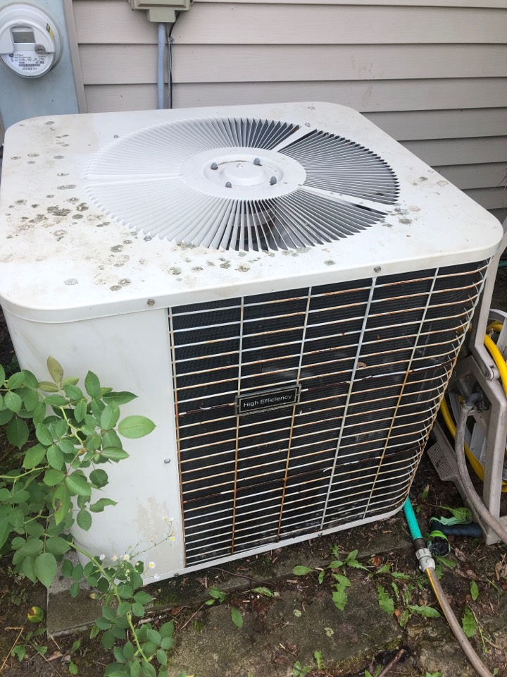 Machesney Park, IL - Annual air conditioning maintenance inspection and cleaning