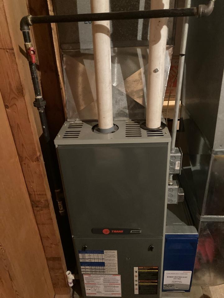 Freeport, IL - Trane furnace ready for winter!