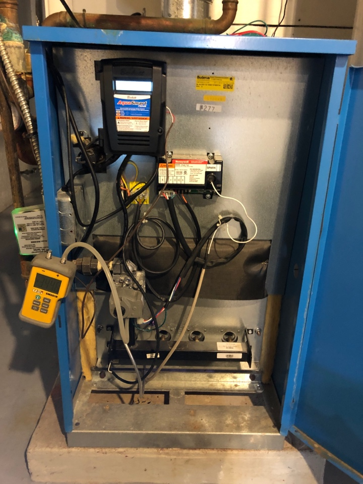 Stockton, IL - Annual boiler maintenance inspection and cleaning