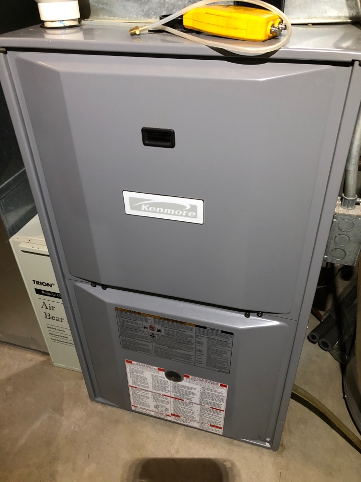Cherry Valley, IL - Kenmore furnace maintenance