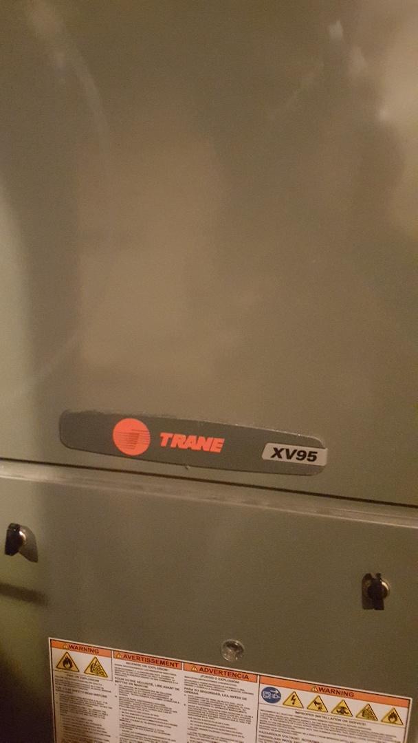 Pecatonica, IL - Yearly maintenance on Trane high efficiency gas furnace
