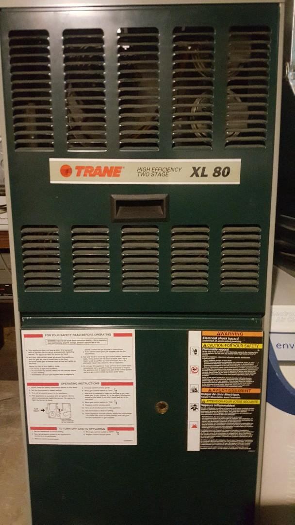 Byron, IL - Maintenance inspection Trane furnace