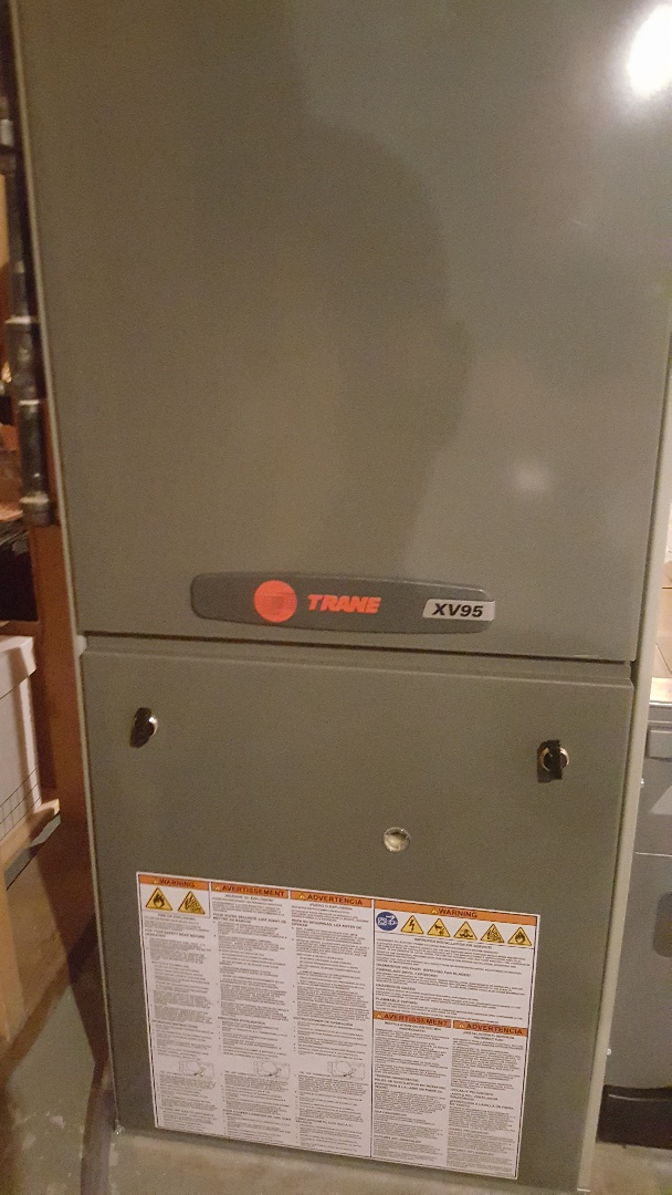 Byron, IL - Clean and check Trane high efficiency furnace