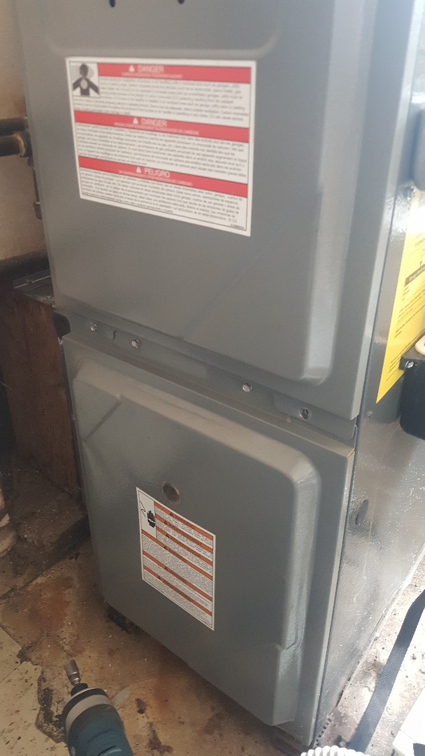 Byron, IL - Furnace clean and check Amana