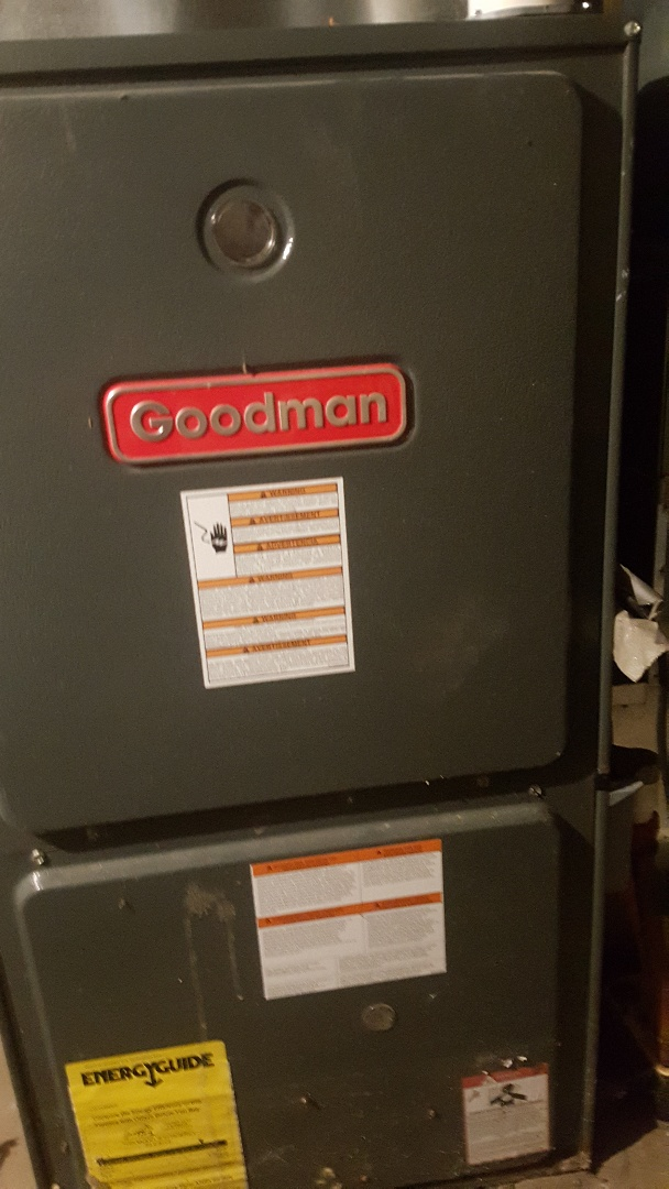 Stockton, IL - Goofman Furnace clean and check