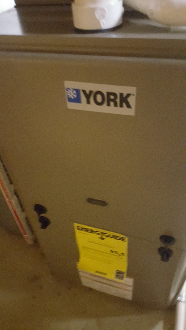 Winnebago, IL - Annual furnace inspection on a York gas furnace