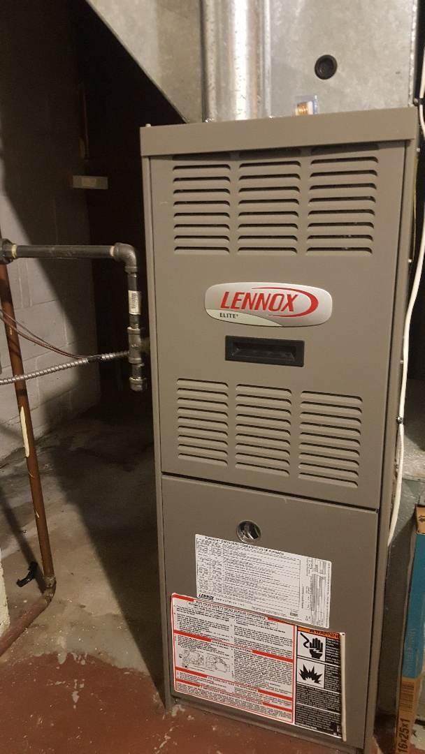 Byron, IL - Lennox furnace clean and check