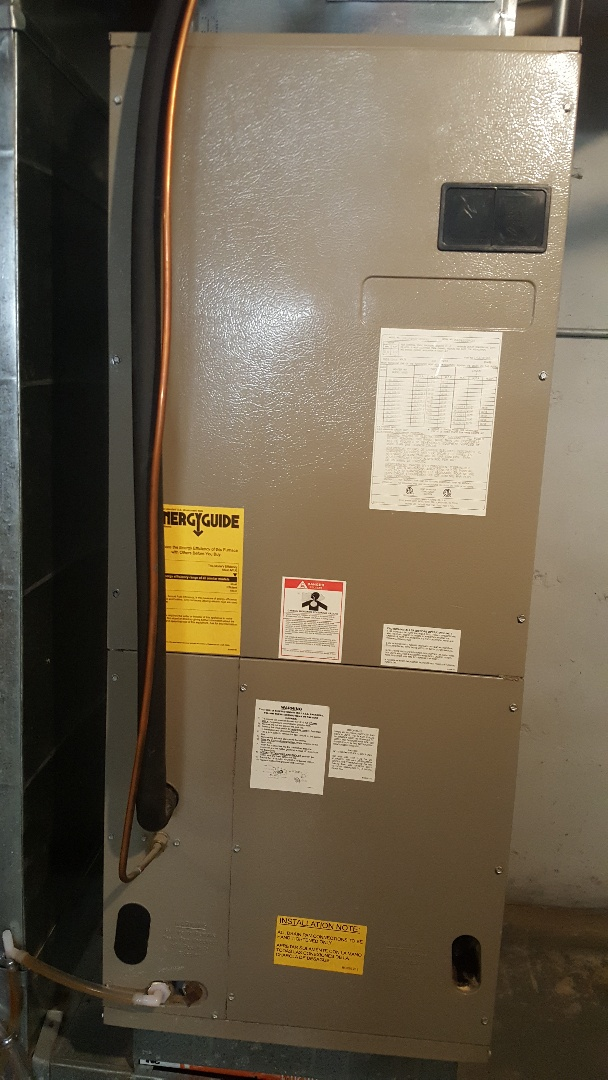 Pecatonica, IL - Annual inspection of Heat Pump