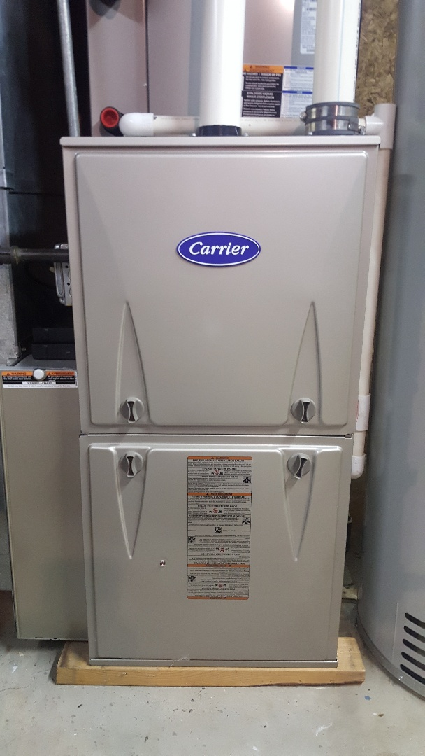 Roscoe, IL - Carrier furnace annual maintenance inspection