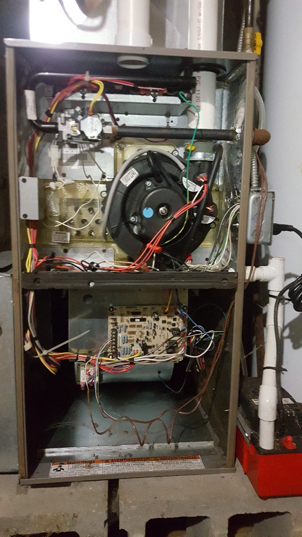 Cherry Valley, IL - Annual York furnace maintenance inspection