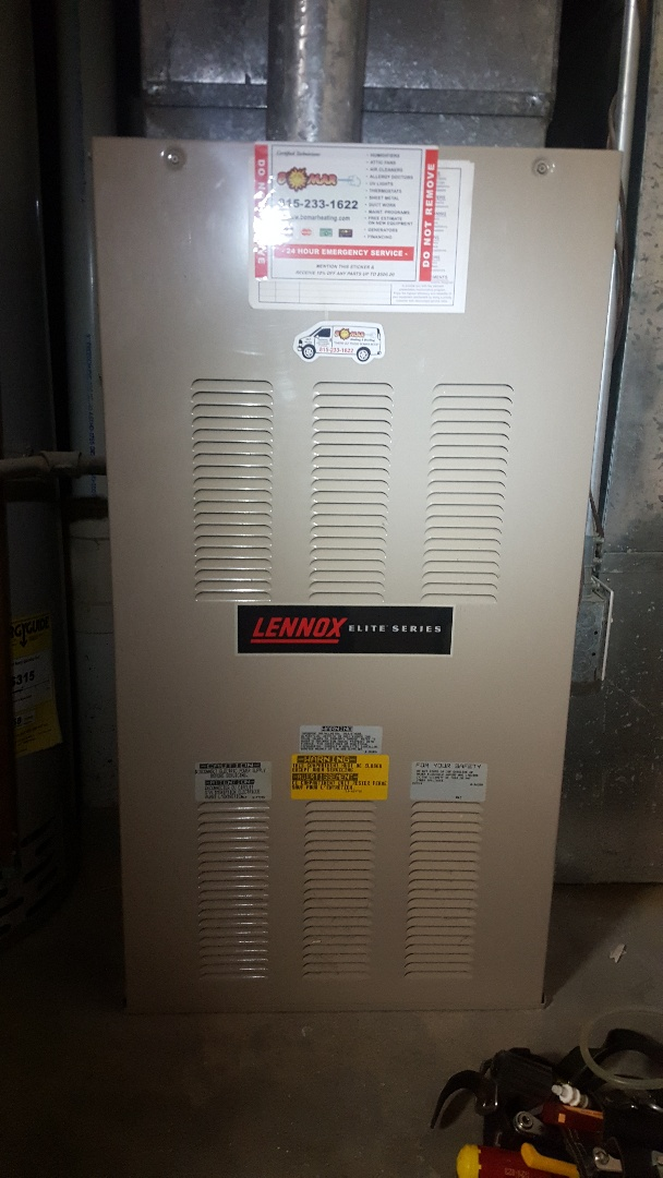 Belvidere, IL - Lennox annual furnace inspection