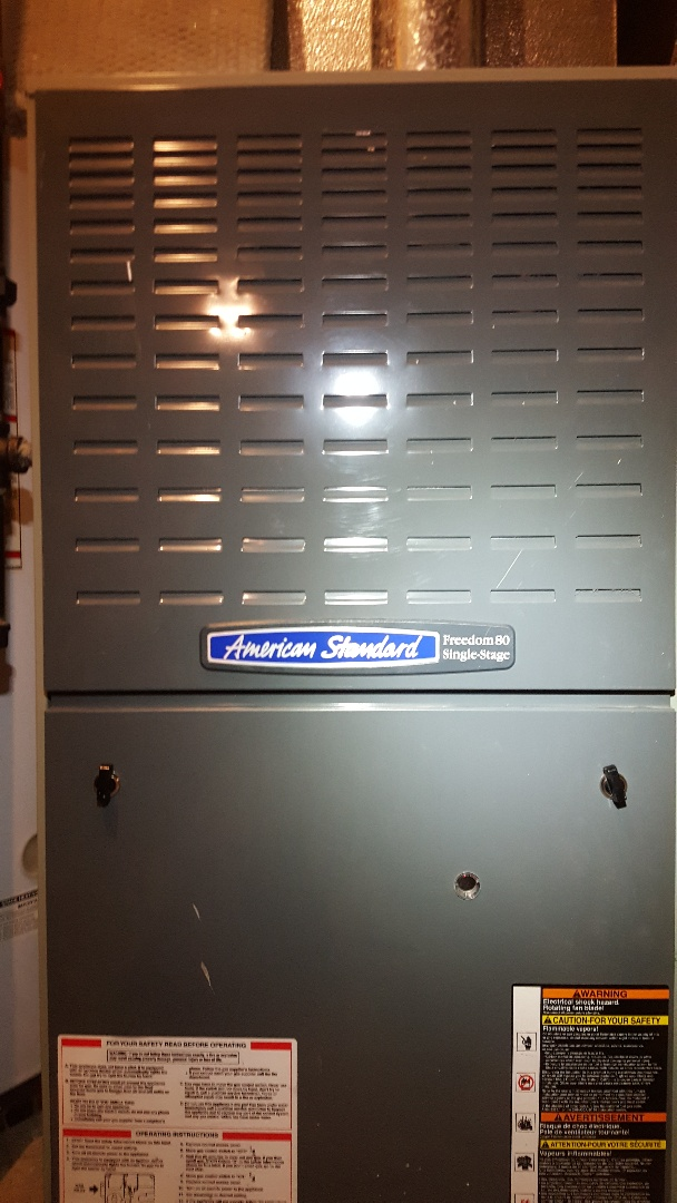 Machesney Park, IL - American Standard annual furnace inspection