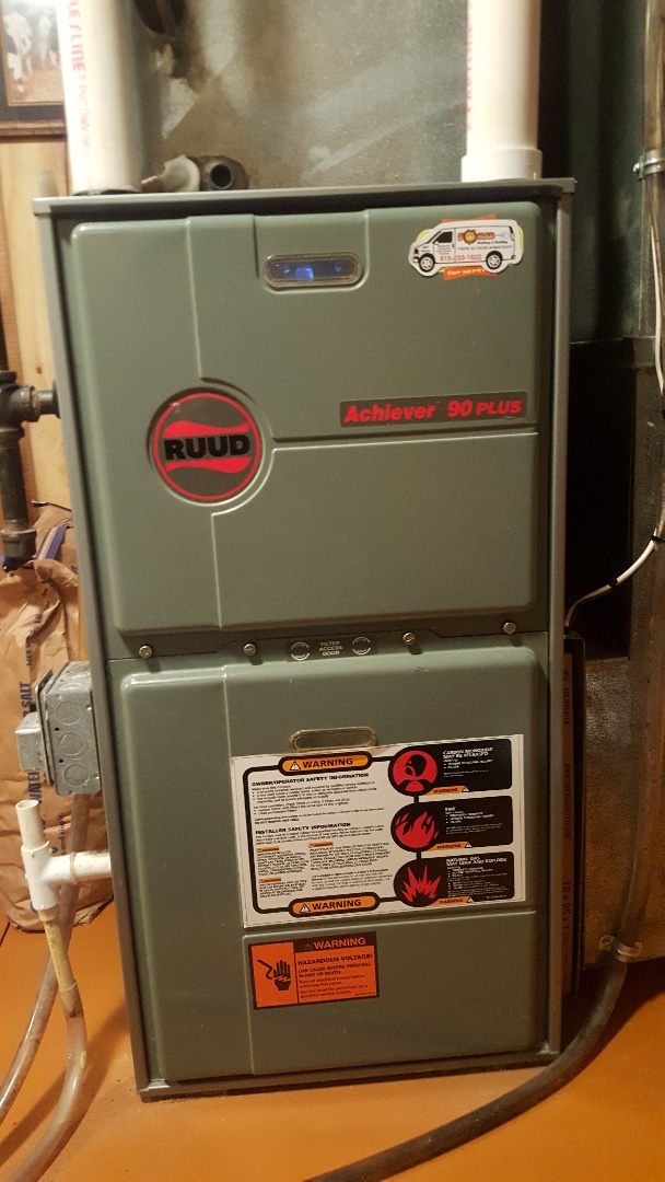 Freeport, IL - Ruud furnace annual maintenance inspection