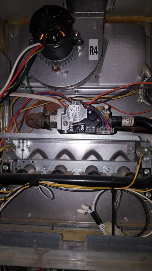 Lanark, IL - Furnace repair. Replaced faulty  inducer draft motor