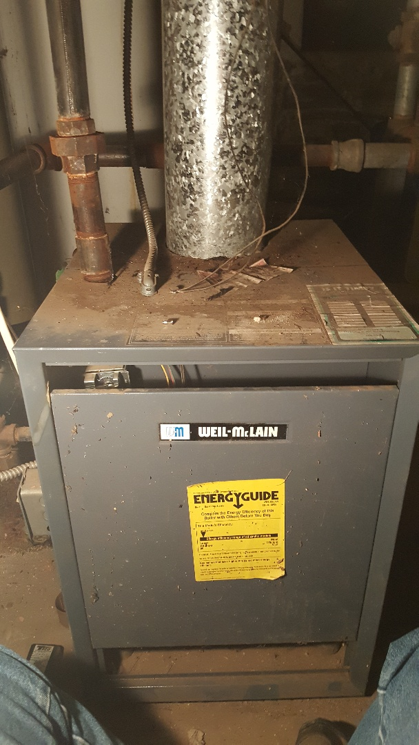 Dixon, IL - Boiler repair on a weil McClain boiler.