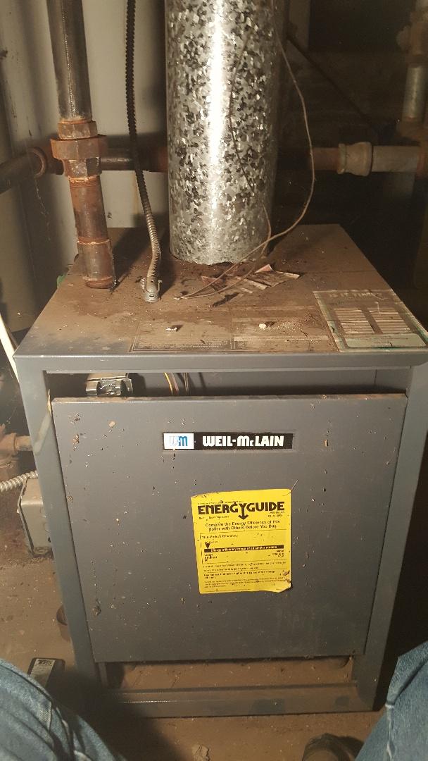 Dixon, IL - Boiler repair on a weil McClain boiler.