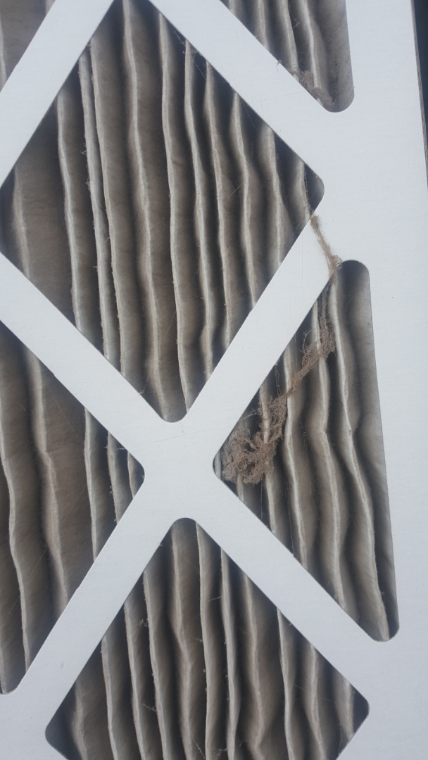 Machesney Park, IL - Plugged air filter restricting air fkow