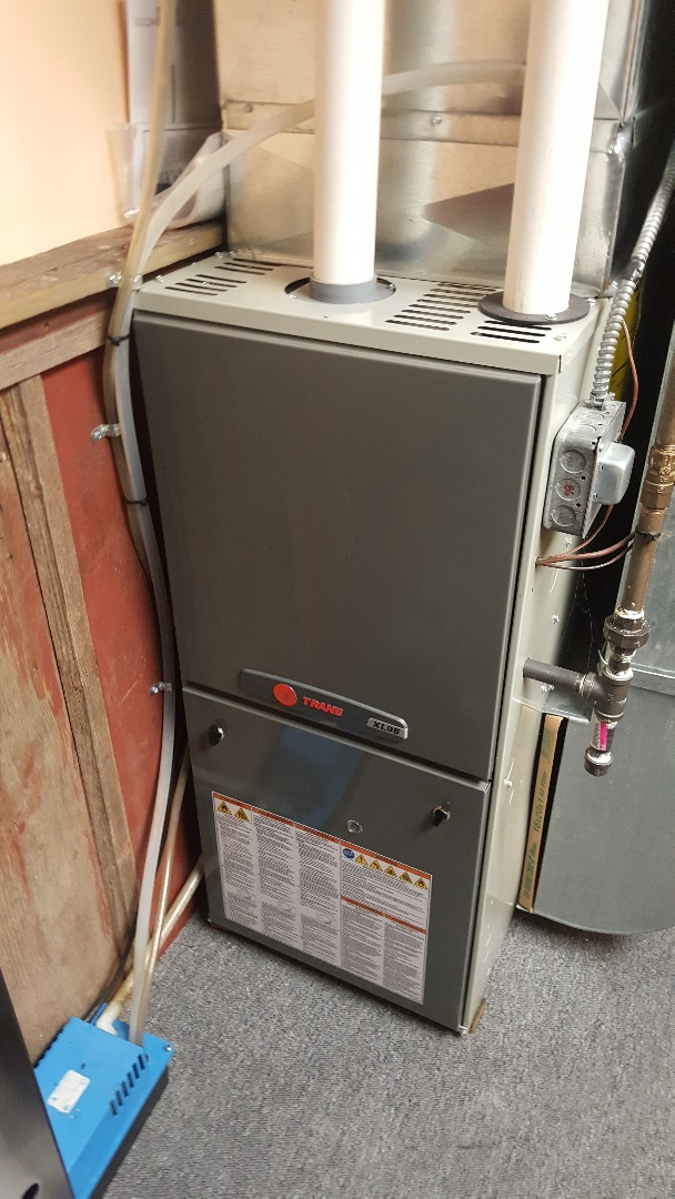 Davis, IL - Trane furnace warranty repair