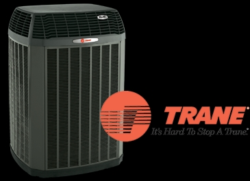Pearl City, IL - Seasonal maintenance on a Trane air conditioner. Hard to stop one especially if you let the Bomar boys do your maintenance!