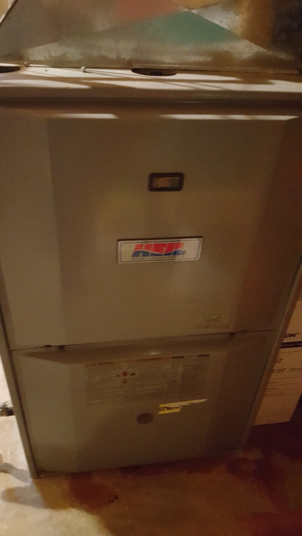 Leaf River, IL - Furnace repair in a Heil unit. Replaced the control board.