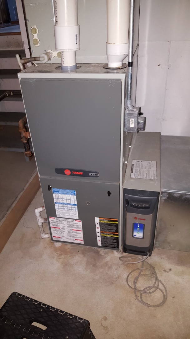 Freeport, IL - Seasonal maintenance on a Trane high efficient furnace.