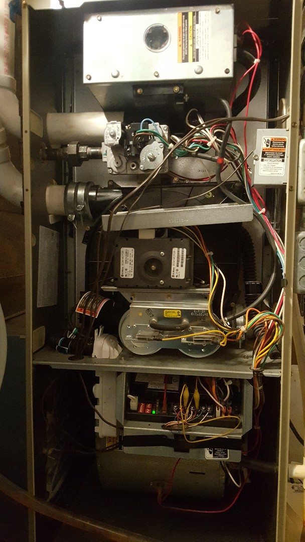 Freeport, IL - Annual Carrier furnace maintenance inspection and cleaning