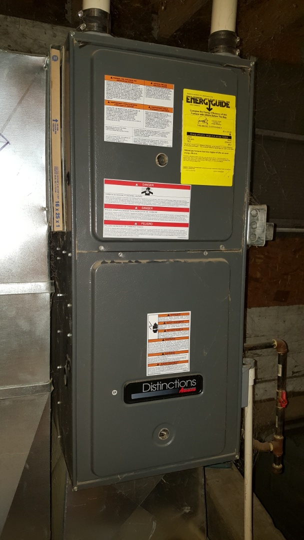 Sterling, IL - Furnace repair on a Goodman furnace.