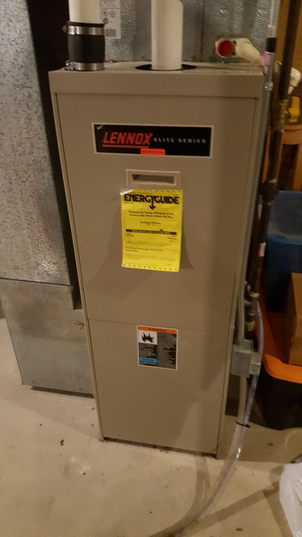 Freeport, IL - Furnace repair on a Lennox furnace.