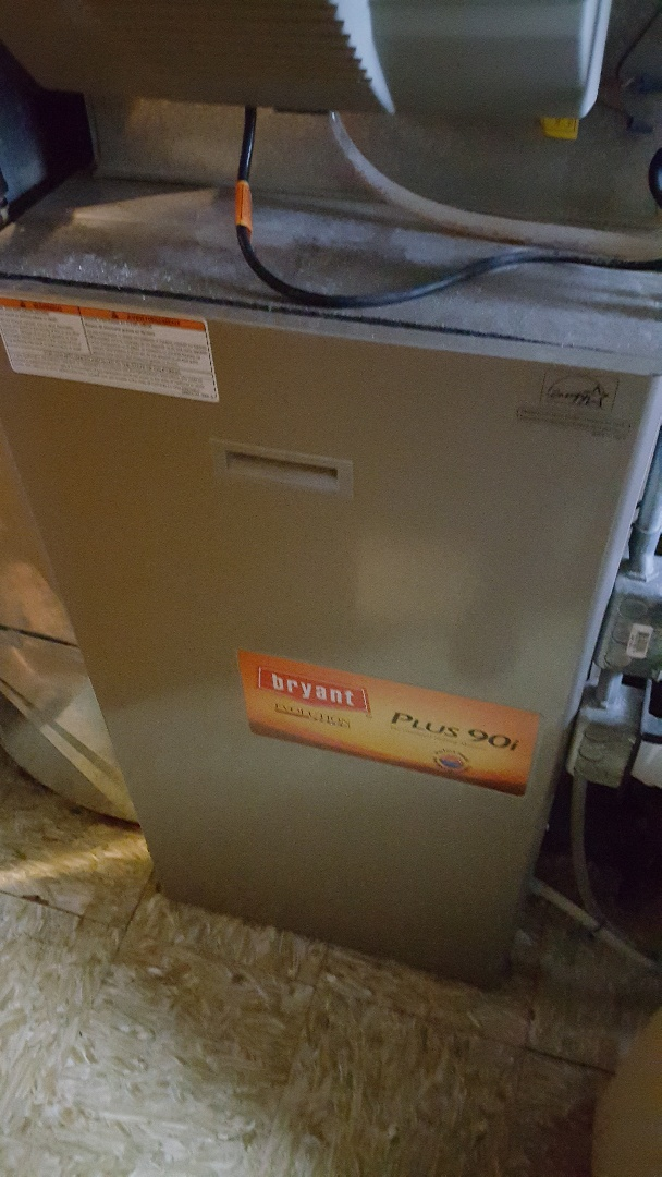 Freeport, IL - Furnace repair on a Bryant furnace.